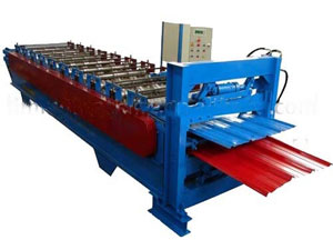 Color Coated Steel Plate Forming Machine